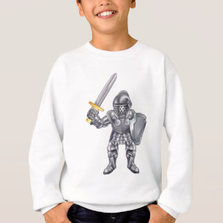 Knight Cartoon Mascot Character Sweatshirt