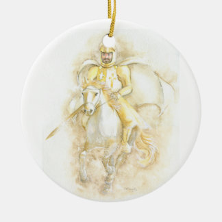 Knight Ceramic Ornament