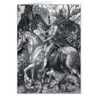 Knight, Death and the Devil - Albrecht Dürer Card