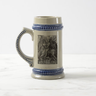 Knight,Death and the devil beer stein