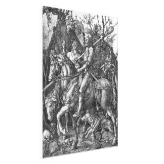 Knight, Death and the Devil Canvas Print
