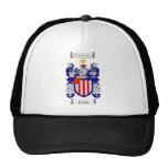 KNIGHT FAMILY CREST -  KNIGHT COAT OF ARMS TRUCKER HAT