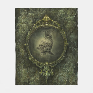Knight Fantasy Fleece Blanket
