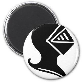 Knight Helmet Magnet