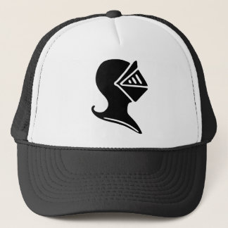 Knight Helmet Trucker Hat