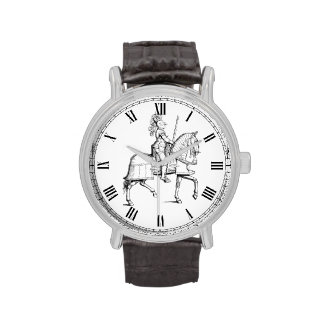 Knight in Armor Wrist Watches