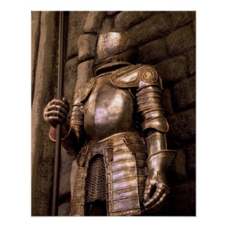 Knight in Armor Poster