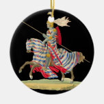 Knight in Armour Christmas Ornament