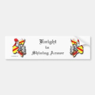 Knight in Shining Armor Car Bumper Sticker