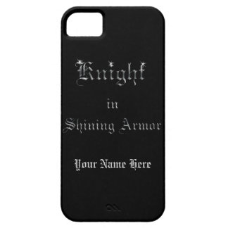 Knight in Shining Armor Barely There iPhone 5 Case