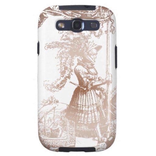 Knight in Shining Armor Samsung Galaxy SIII Case