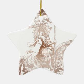 Knight in Shining Armor Ceramic Star Decoration