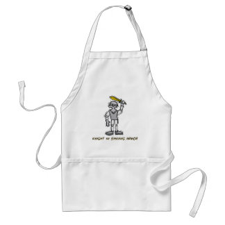 Knight in Shining Armor Costume Adult Apron