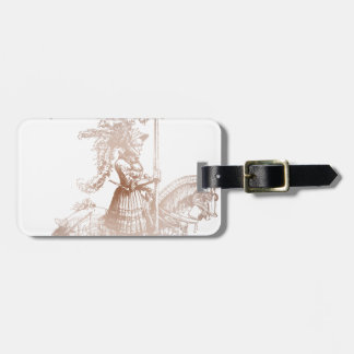 Knight in Shining Armor Luggage Tags