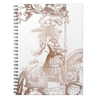 Knight in Shining Armor Spiral Note Books