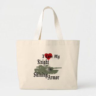 Knight in Shining Armor/ Tank Canvas Bag