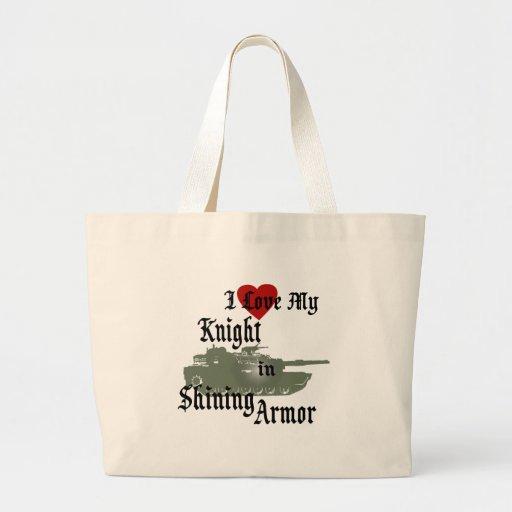 Knight in Shining Armor/ Tank Canvas Bag
