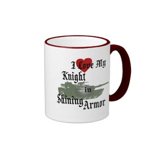 Knight in Shining Armor/ Tank Mugs