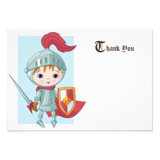Knight in Shining Armor Thank You Card