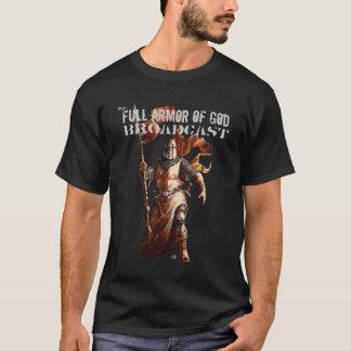 knight live trace 1, Full Armor of God, Broadca... T-Shirt