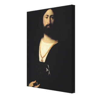 Knight of the Order of Malta Canvas Print