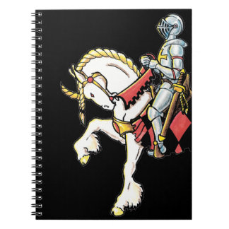 Knight on His White Horse Notebooks