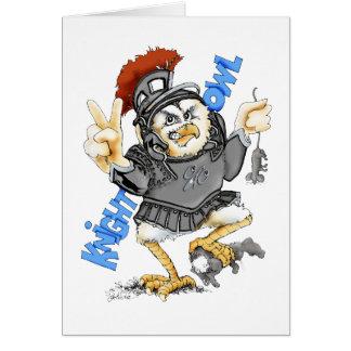 Knight Owl Card