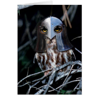 Knight Owl Card