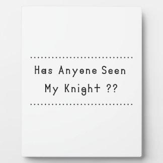 Knight Plaque