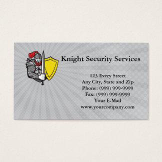 Knight Security Services Business Card