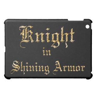 Knight Shining Armor Gold iPad Mini Covers