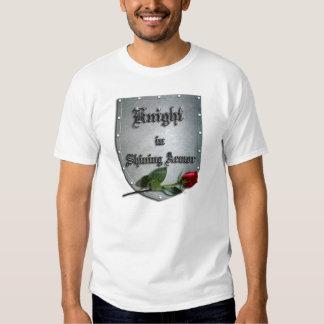 Knight Shining Armor Rose T Shirt