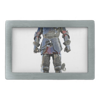 Knight Standing and Looking Forward Belt Buckles