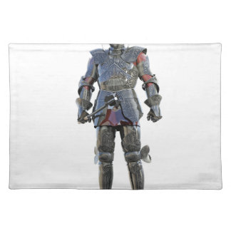 Knight Standing and Looking Forward Placemat