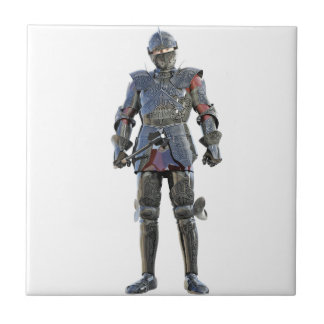Knight Standing and Looking Forward Tile