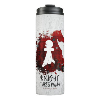 Knight Takes Pawn by Martha Sweeney Tumbler Thermal Tumbler