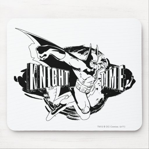 Knight Time Sketch Mousepads