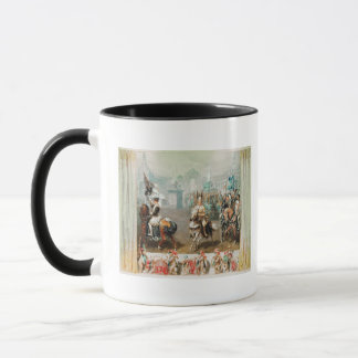 Knight tournament mug