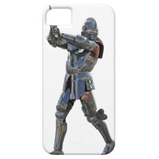 Knight walking to the right with mace barely there iPhone 5 case