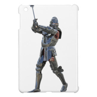 Knight walking to the right with mace iPad mini case