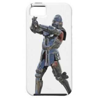 Knight walking to the right with mace iPhone 5 covers
