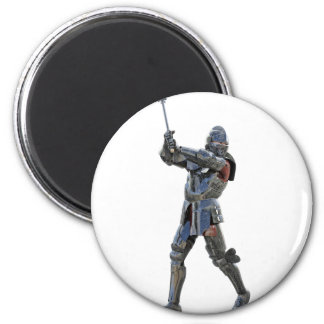 Knight walking to the right with mace magnet