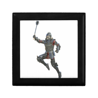 Knight with Mace Leaping to The Right Gift Box