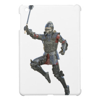 Knight with Mace Leaping to The Right iPad Mini Covers