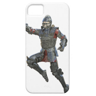 Knight with Mace Leaping to The Right iPhone 5 Case