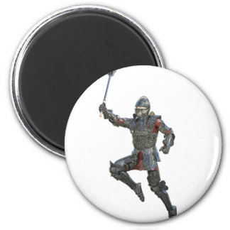 Knight with Mace Leaping to The Right Magnet
