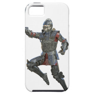 Knight with Mace Leaping to The Right Tough iPhone 5 Case