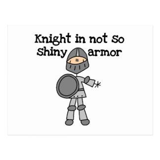 Knight Without Shine Postcard