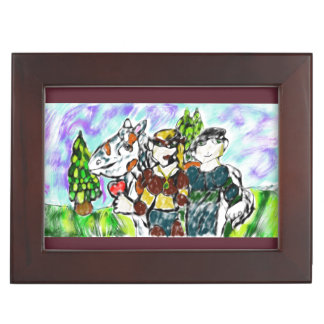 knights love story keepsake box