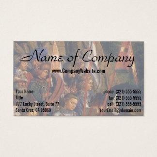 Knights of Christ (Ghent Altarpiece), Jan van Eyck